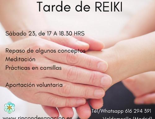 Tutoría y prácticas de Reiki, siente la energía
