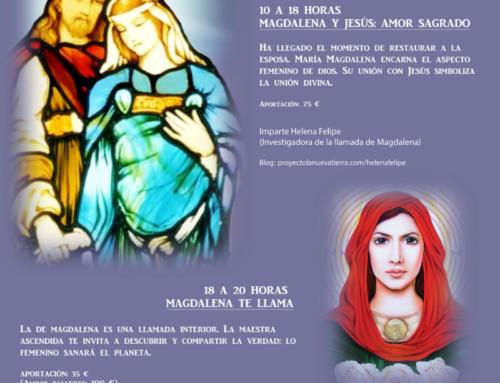 27 de Abril, Magdalena y Jesús te esperan